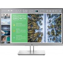 HP EliteDisplay E243 LED display 60,5 cm (23.8 Zoll) Full HD Flach Schwarz - Silber