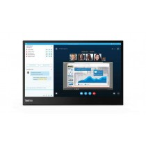 Lenovo ThinkVision M14 - 35,6 cm (14 Zoll) - 1920 x 1080 Pixel - Full HD - LED - 6 ms - Schwarz