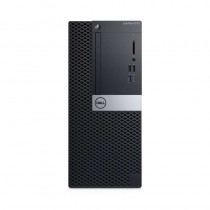 Dell OPTIPLEX 3070 - MT - Core i5 3 GHz - RAM: 16 GB DDR4 - HDD: 256 GB - UHD Graphics 600